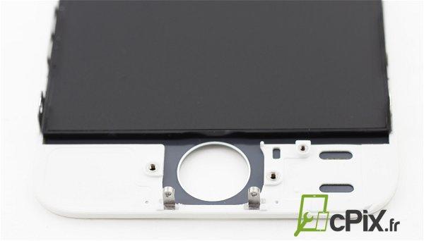 vendeur d 39 cran iphone 5s blanc qualit premium pour vos r parations. Black Bedroom Furniture Sets. Home Design Ideas
